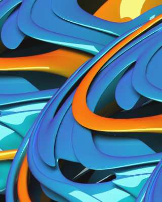 Stunning Abstract - Obrázkek zdarma pro Nokia 206 Asha