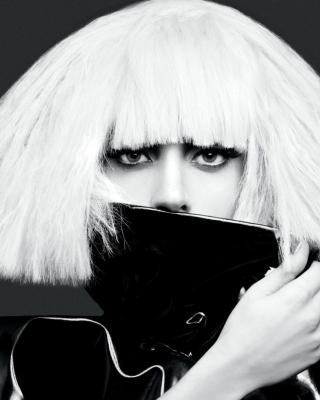 Lady Gaga Black And White - Obrázkek zdarma pro 768x1280