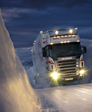 Scania - Obrázkek zdarma pro 480x800