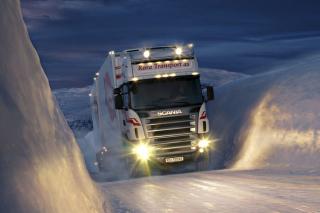 Scania - Obrázkek zdarma pro LG P500 Optimus One