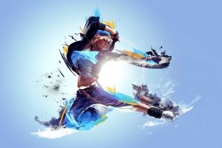 Digital Dance - Obrázkek zdarma pro Sony Xperia Tablet Z