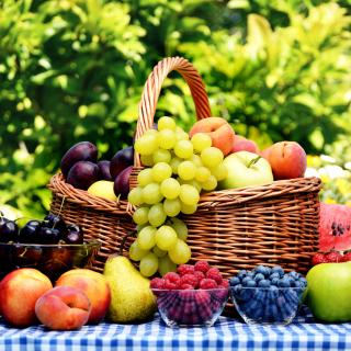 Organic Fruit Gift Basket - Obrázkek zdarma pro iPad 3
