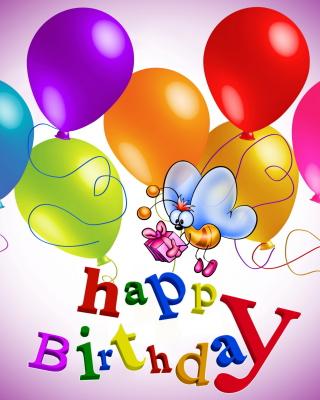 Happy Birthday - Obrázkek zdarma pro 352x416