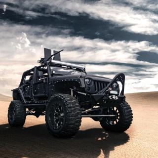Jeep Wrangler for Army - Obrázkek zdarma pro iPad