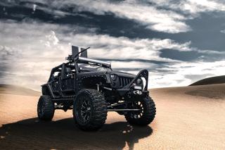 Jeep Wrangler for Army - Obrázkek zdarma pro Nokia XL