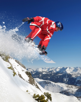 Snowboard in Whistler - Blackcomb 1 - Obrázkek zdarma pro Nokia C-Series