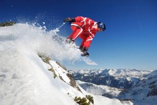 Snowboard in Whistler - Blackcomb 1 - Obrázkek zdarma pro Samsung Galaxy Tab S 8.4