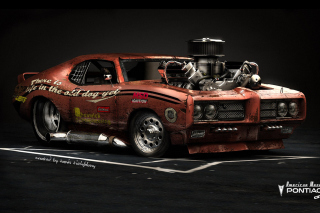 Free Pontiac GTO Monster Picture for Android, iPhone and iPad