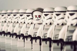 Star Wars Lego - Obrázkek zdarma pro 1366x768