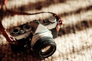 Olympus Camera - Obrázkek zdarma pro Widescreen Desktop PC 1600x900