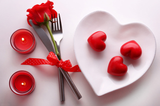 Valentines Day Aroma Wallpaper for Nokia Asha 200