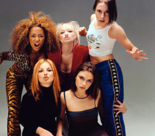 Spice Girls Background - Obrázkek zdarma pro iPad mini 2