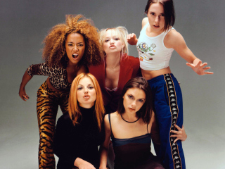 Spice Girls Background - Obrázkek zdarma pro LG P970 Optimus