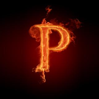 Letter P - Obrázkek zdarma pro iPad 2