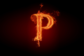 Letter P Background for Android, iPhone and iPad