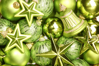 Christmas Tree Toys Wallpaper for Android, iPhone and iPad