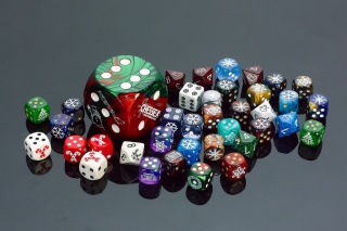 Casino Dices for Craps Wallpaper for Android, iPhone and iPad