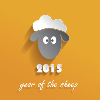 Year of the Sheep 2015 - Obrázkek zdarma pro 2048x2048
