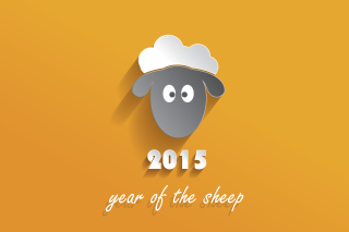 Year of the Sheep 2015 - Obrázkek zdarma pro Samsung Galaxy Note 3