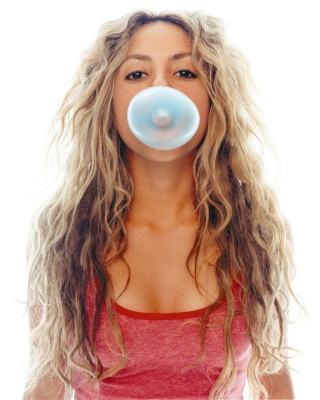 Shakira And Bubble Gum - Obrázkek zdarma pro Nokia Lumia 2520