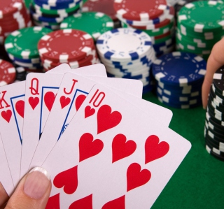 Poker - Obrázkek zdarma pro iPad Air