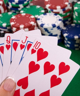 Poker - Obrázkek zdarma pro 128x160