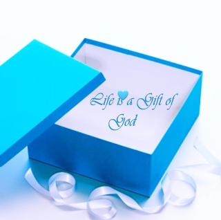 Life Is Gift Of God - Obrázkek zdarma pro 320x320