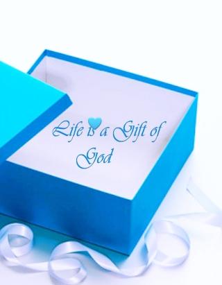 Life Is Gift Of God - Obrázkek zdarma pro Nokia Lumia 920T