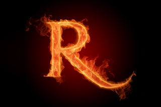 Free Fire Alphabet Letter R Picture for Android, iPhone and iPad