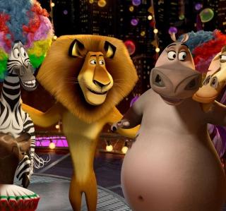 2012 Madagascar 3 - Obrázkek zdarma pro iPad 2