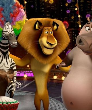 2012 Madagascar 3 - Obrázkek zdarma pro 240x320