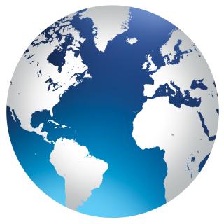 Globe - Obrázkek zdarma pro 320x320