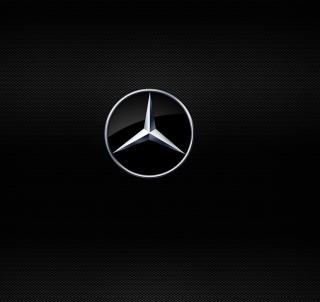Mercedes Logo - Obrázkek zdarma pro 320x320