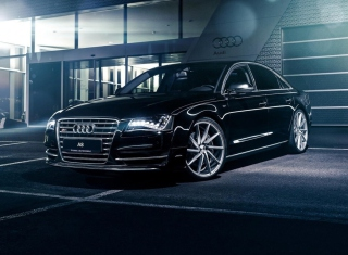 Audi A8 Background for Android, iPhone and iPad