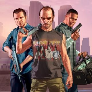 Grand Theft Auto V Band - Obrázkek zdarma pro 2048x2048