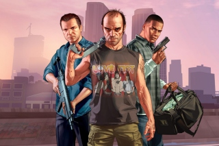 Grand Theft Auto V Band - Fondos de pantalla gratis Stub device