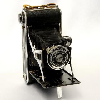 Coronet Vintage Retro Camera - Obrázkek zdarma pro 208x208