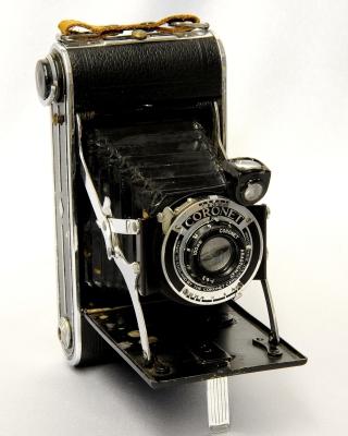 Coronet Vintage Retro Camera - Obrázkek zdarma pro 360x480