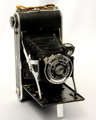 Coronet Vintage Retro Camera - Obrázkek zdarma pro Nokia C3-01