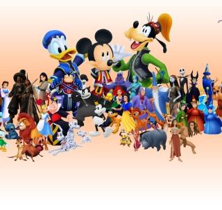 Disney Family - Obrázkek zdarma pro 128x128