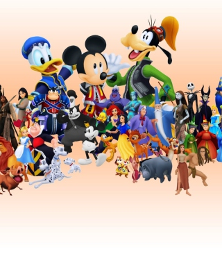Disney Family - Obrázkek zdarma pro Nokia Asha 309