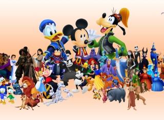 Disney Family - Obrázkek zdarma pro Samsung Galaxy Tab 3 8.0