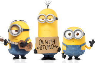 Minions 2015 Movie Wallpaper for Android, iPhone and iPad