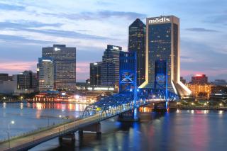 Jacksonville Evening - Fondos de pantalla gratis para Widescreen Desktop PC 1920x1080 Full HD
