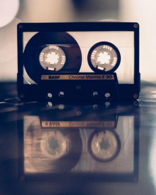 Compact Audio Cassette BASF - Obrázkek zdarma pro Nokia X6