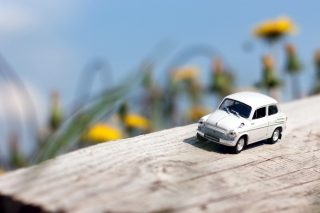Mini Toy Car Wallpaper for Android, iPhone and iPad