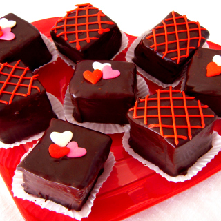Mini Chocolate Cakes - Obrázkek zdarma pro 320x320