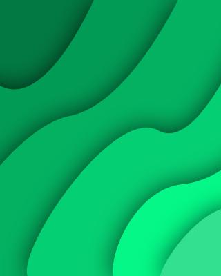 Green Waves - Obrázkek zdarma pro Nokia Asha 300
