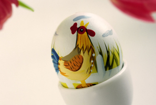 Easter Egg With A Beautiful Motif - Obrázkek zdarma pro Samsung Galaxy Note 2 N7100