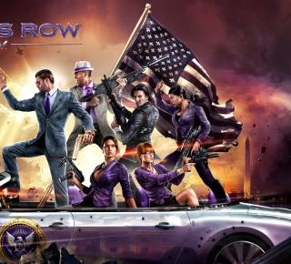 Saints Row 4 - Obrázkek zdarma pro iPad
